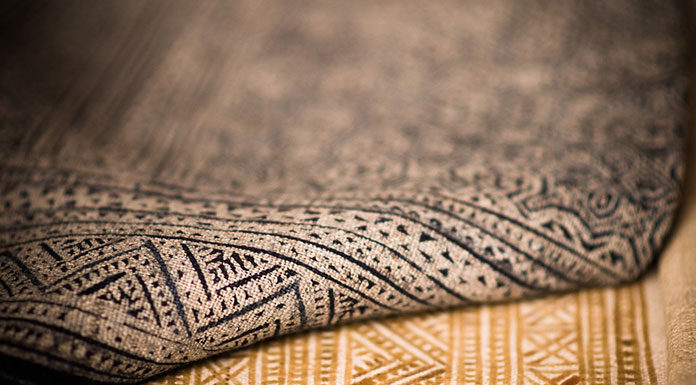 Druk na tkaninach