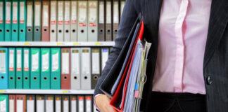 Przechowywanie dokumentów firmowych